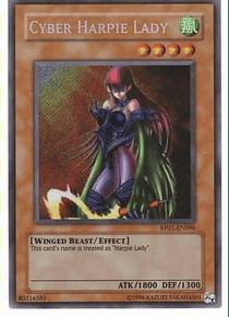 Cyber Harpie Lady - RP01-EN096 - Secret Rare