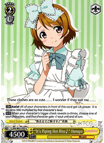 """It's Piping Hot Rice♪"" Hanayo - LL - U"