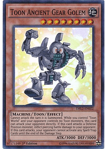 Toon Ancient Gear Golem - DRL2-EN022 - Super Rare