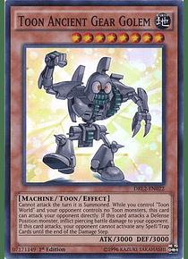 Toon Ancient Gear Golem - DRL2-EN022 - Super Rare