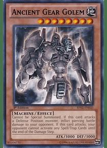 Ancient Gear Golem - BP02-EN035 - Rare (desgastada)