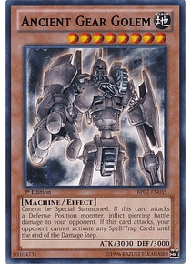Ancient Gear Golem - BP02-EN035 - Rare (desgastada)