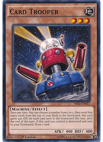 Card Trooper - SR03-EN015 - Common