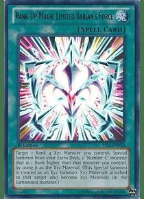 Rank-Up-Magic Limited Barian's Force - YS13-ENV02 - Ultra Rare