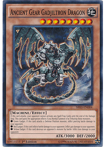 Ancient Gear Gadjiltron Dragon - SR03-EN004 - Common