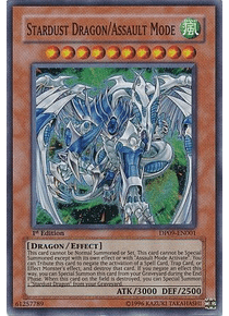 Stardust Dragon/Assault Mode - DP09-EN001 - Super Rare