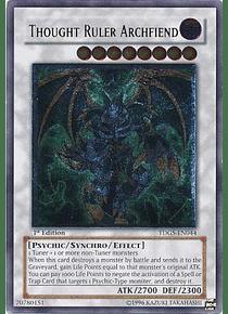 Ultimate Rare - Thought Ruler Archfiend - TDGS-EN044
