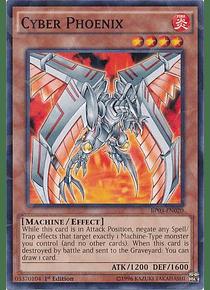 Cyber Phoenix - BP03-EN020 - Shatterfoil Rare (jugado)