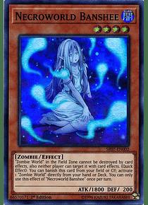 Necroworld Banshee - SR07-EN002 - Super Rare