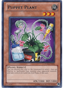 Puppet Plant - TU05-EN006 - Rare (español)