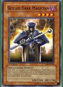 Skilled Dark Magician - SD6-EN006 - Common