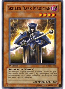 Skilled Dark Magician - SD6-EN006 - Common