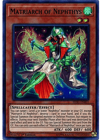 Matriarch of Nephthys - HISU-EN001 - Super Rare
