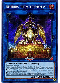 Nephthys, the Sacred Preserver - HISU-EN007 - Secret Rare