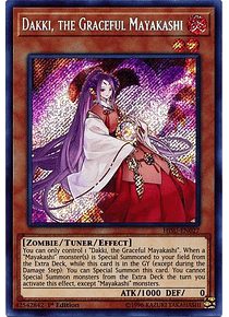 Dakki, the Graceful Mayakashi - HISU-EN027 - Secret Rare