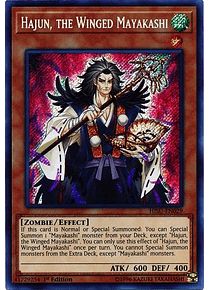 Hajun, the Winged Mayakashi - HISU-EN029 - Secret Rare