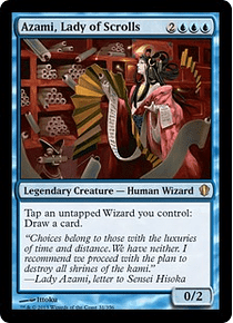 Azami, Lady of Scrolls - C13 - R