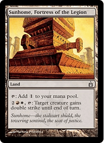 Sunhome, Fortress of the Legion - RCG - U