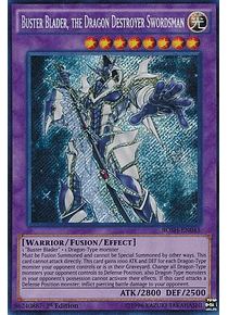 Buster Blader, the Dragon Destroyer Swordsman - BOSH-EN045 - Secret Rare