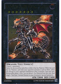 Ultimate Rare - Red-Eyes Flare Metal Dragon - CORE-EN054