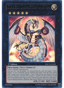 Cyber Dragon Nova - SDCR-EN038 - Ultra Rare