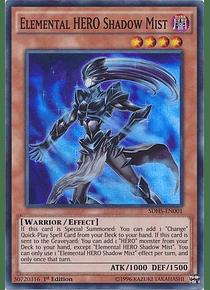 Elemental Hero Shadow Mist - SDHS-EN001 - Super Rare