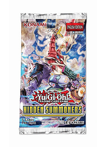 Hidden summoners sobre con 5 tarjetas (ingles)
