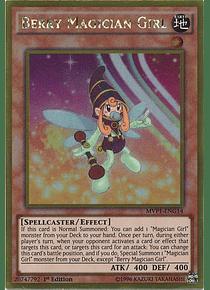 Berry Magician Girl - MVP1-ENG14 - Gold Rare