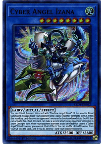 Cyber Angel Izana - LED4-EN012 - Super Rare