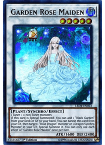 Garden Rose Maiden - LED4-EN023 - Ultra Rare