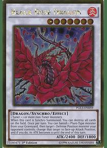 Black Rose Dragon - PGL3-EN059 - Gold Rare