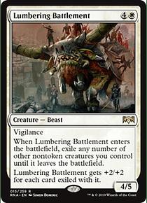 Lumbering Battlement - RNA - R