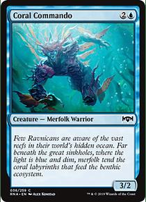 Coral Commando - RNA - C