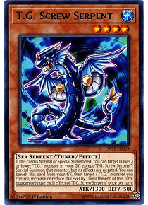 T.G. Screw Serpent - SAST-EN009 - Rare