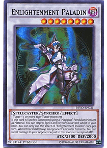 Enlightenment Paladin - PEVO-EN031 - Super Rare