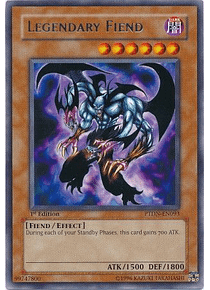 Legendary Fiend - PTDN-EN093 - Rare