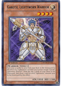 Garoth, Lightsworn Warrior - RYMP-EN101 - Rare