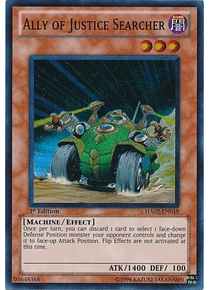 Ally of Justice Searcher - HA02-EN019 - Super Rare