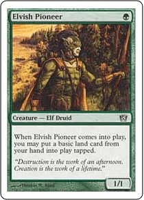 Elvish Pioneer - 8th - C