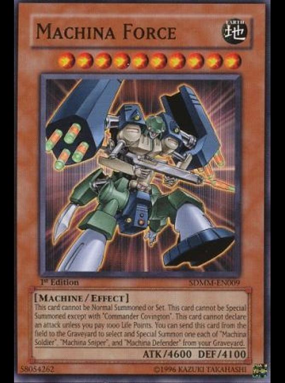 Machina Force - SDMM-EN009 - Common