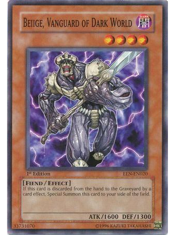 Beiige, Vanguard of Dark World - EEN-EN020 - Common