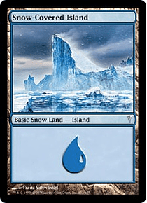 Snow-Covered Island - CLS - C.
