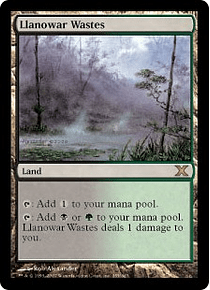 Llanowar Wastes - 10TH - R.
