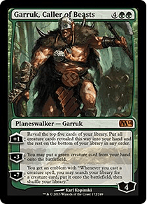 Garruk, Caller of Beasts - M14 - M.