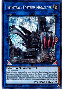 Infinitrack Fortress Megaclops - INCH-EN011 - Secret Rare
