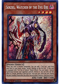 Serziel, Watcher of the Evil Eye - INCH-EN027 - Secret Rare