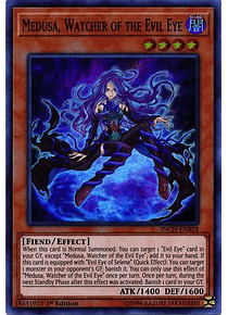 Medusa, Watcher of the Evil Eye - INCH-EN028 - Super Rare