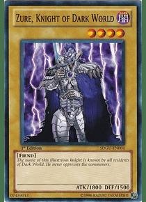 Zure, Knight of Dark World - SDGU-EN004 - Common