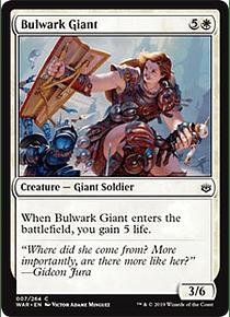 Bulwark Giant - WAR - C