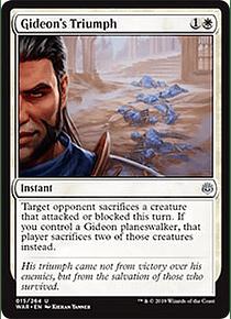 Gideon's Triumph WAR - U